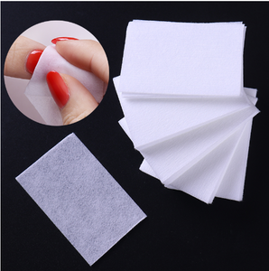 1000pcs Lint-Free White Nail Polish Remover Cotton Wipe