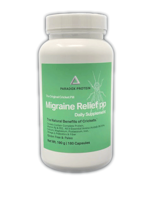 Migraine Relief The Original Cricket Pills