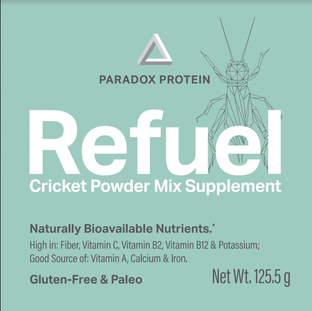 Refuel Cricket Powder Mix Supplement – Mango (Large) - ParadoxProtein