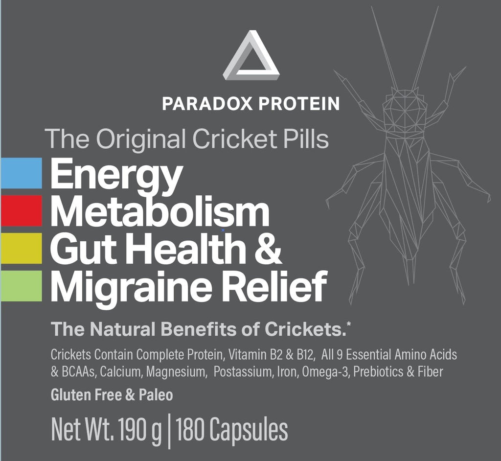 Cricket Pills 4 Pack - ParadoxProtein