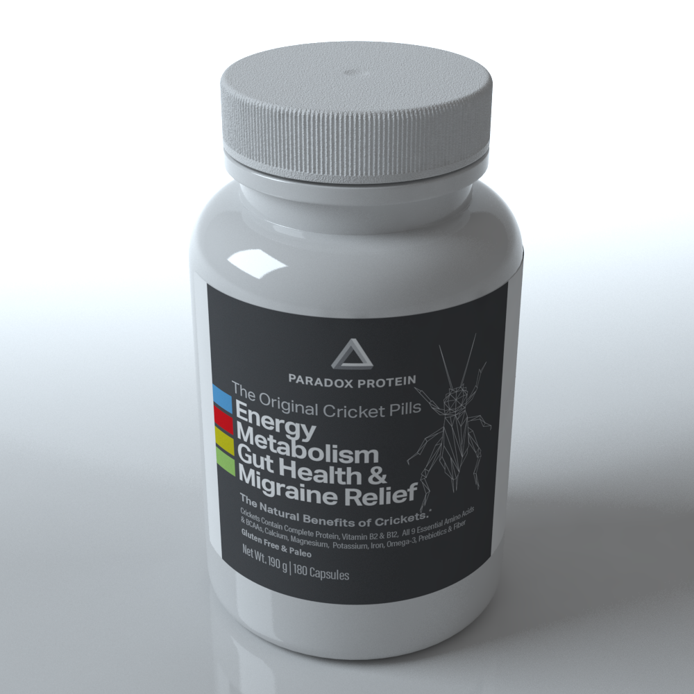 The Original Cricket Pills 15 Day Supply - ParadoxProtein
