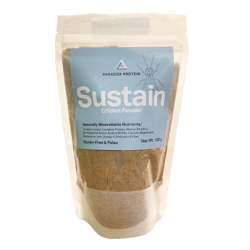 Sustain Cricket Powder 1/4 Lb - ParadoxProtein