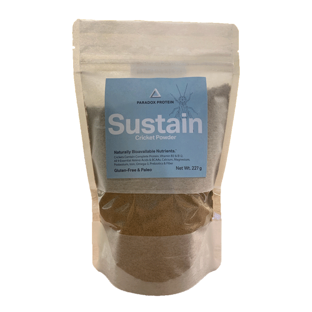 Sustain Cricket Powder 1/2 Lb - ParadoxProtein