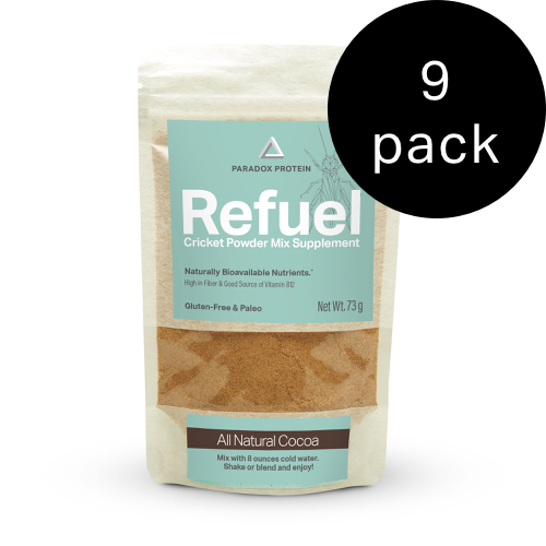 REFUEL CRICKET POWDER MIX SUPPLEMENT – COCOA (REGULAR) - ParadoxProtein