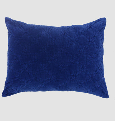 Midnight Blue Velvet Pillow Sham - DaOneHomes