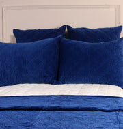 MAGNETIC BLUE KING BED SET - DaOneHomes