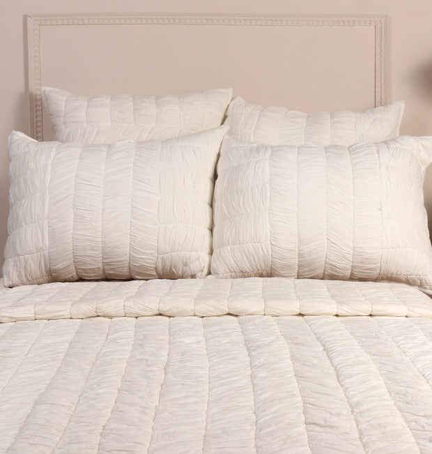 WHITE COTTON TWIN BED SET - DaOneHomes