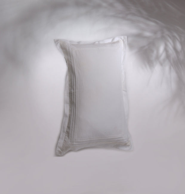White Marvel Simplicity Cushion - DaOneHomes