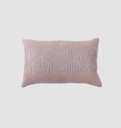 English Rose Abstract Waves Cushion - DaOneHomes