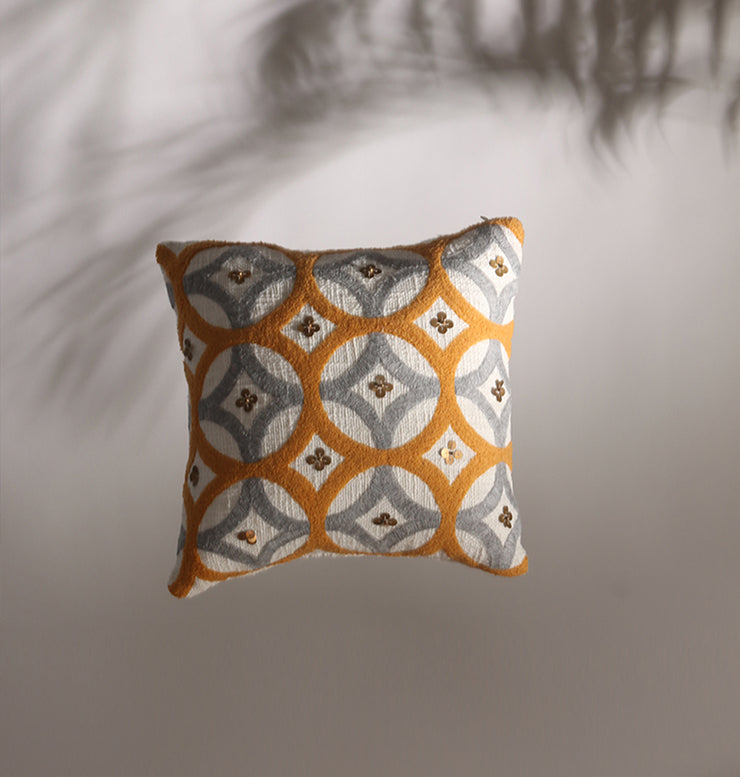 Honey Grey Star Galaxy Cushion - DaOneHomes