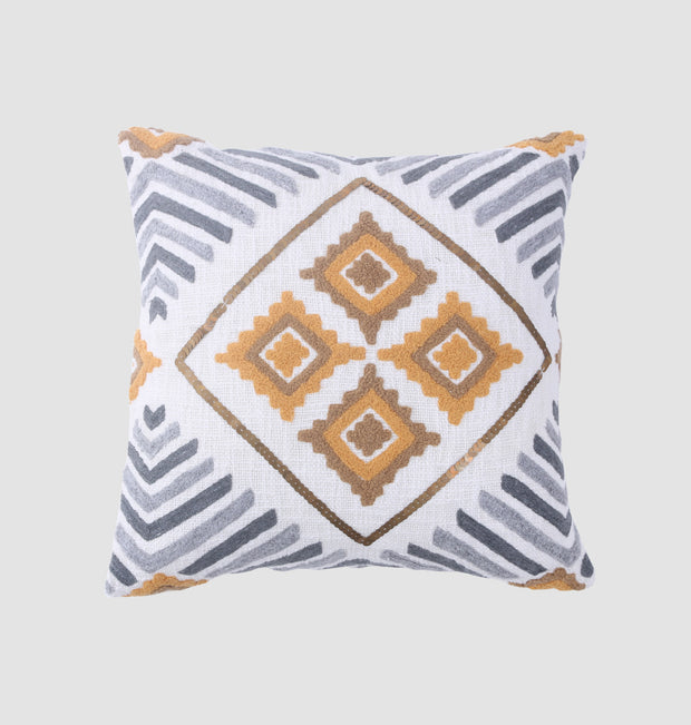 Honey Grey Four Elements Cushion - DaOneHomes