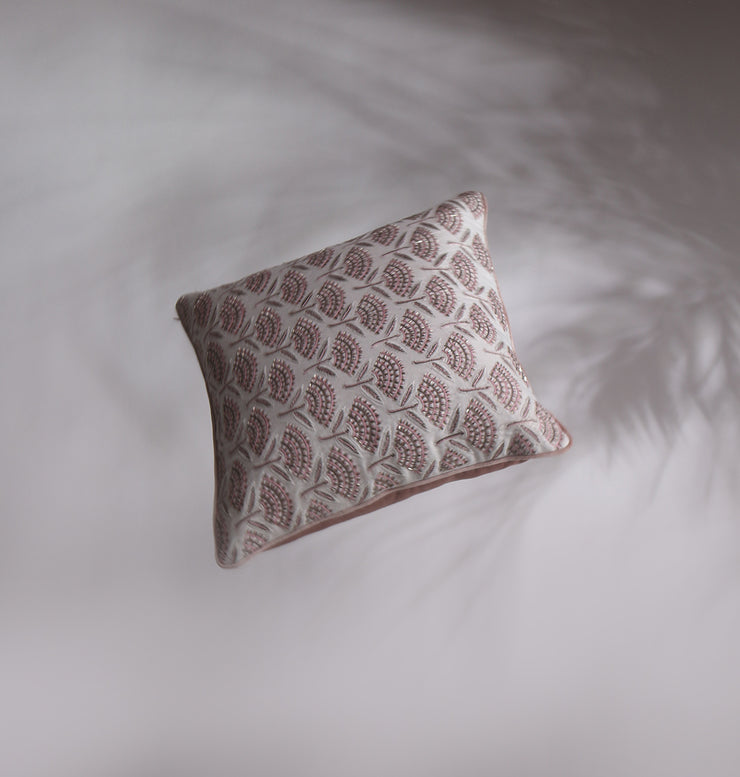 Rose Gold Blooming Love Cushion - DaOneHomes