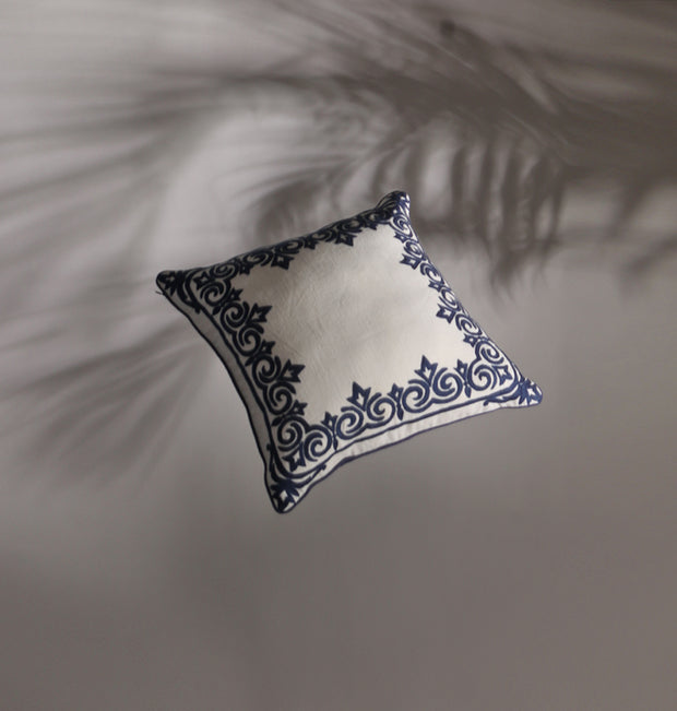 Royal Blue Heritage Cushion - DaOneHomes