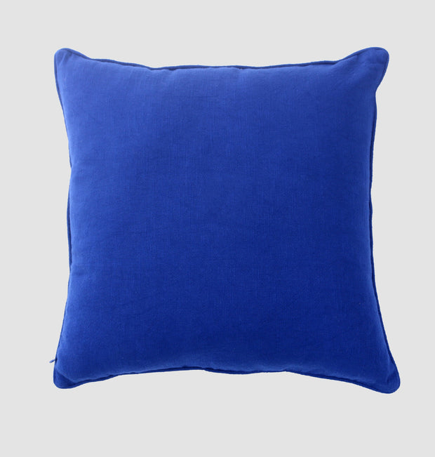 Blue Hectagon Diamonds Cushion - DaOneHomes