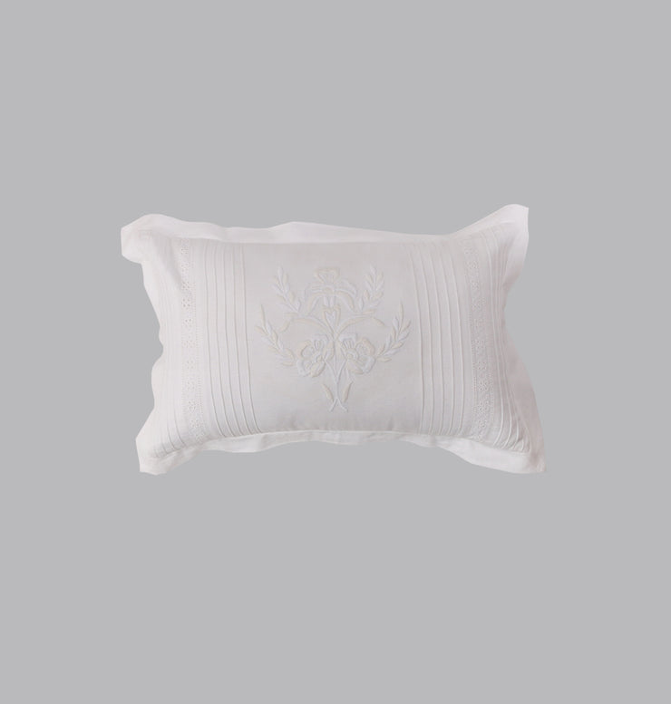 White Feminine Wonder Cushion - DaOneHomes