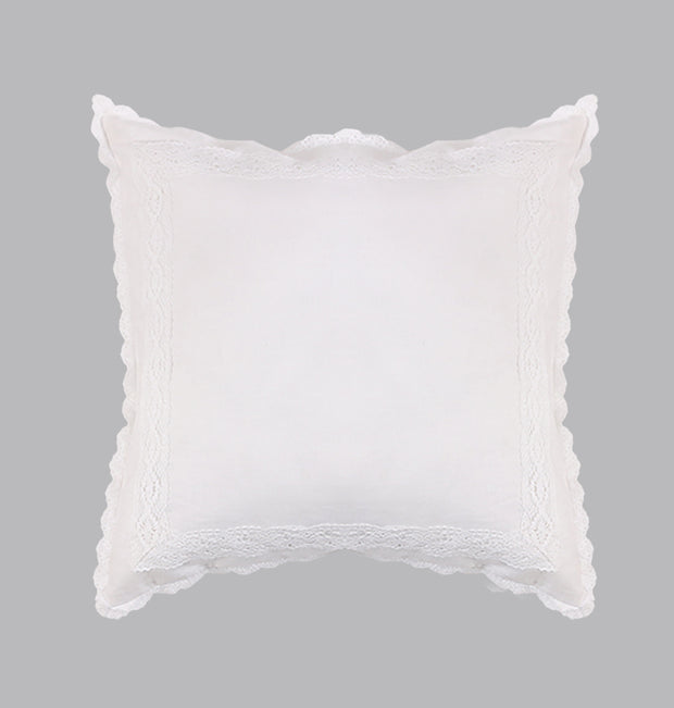 White Marvel Peace Cushion - DaOneHomes