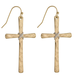 At the Cross Earrings