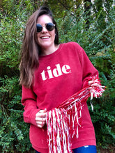 Tide Corded Sweatshirt