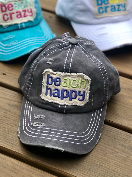 Beach Happy Cap