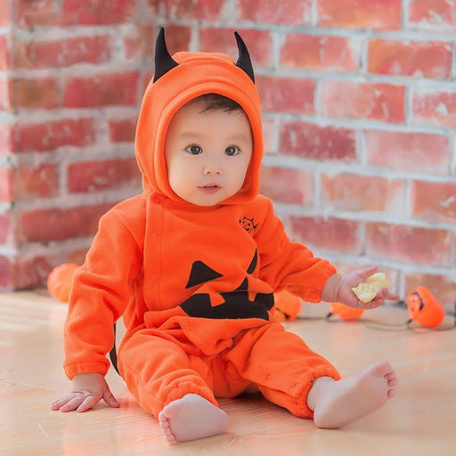Baby - Pumpkin Jumpsuit For Baby