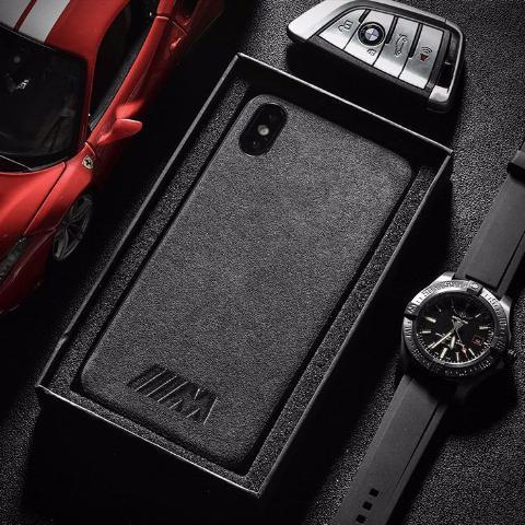 M Alcantara iPhone Case