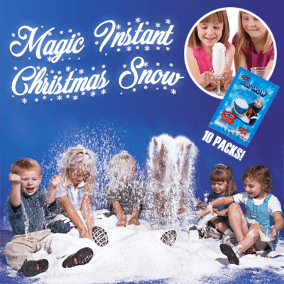 Magic Instant Christmas Snow Set