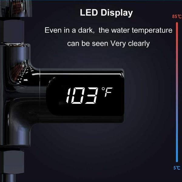 Gadgets - LED Display Water Shower Thermometer
