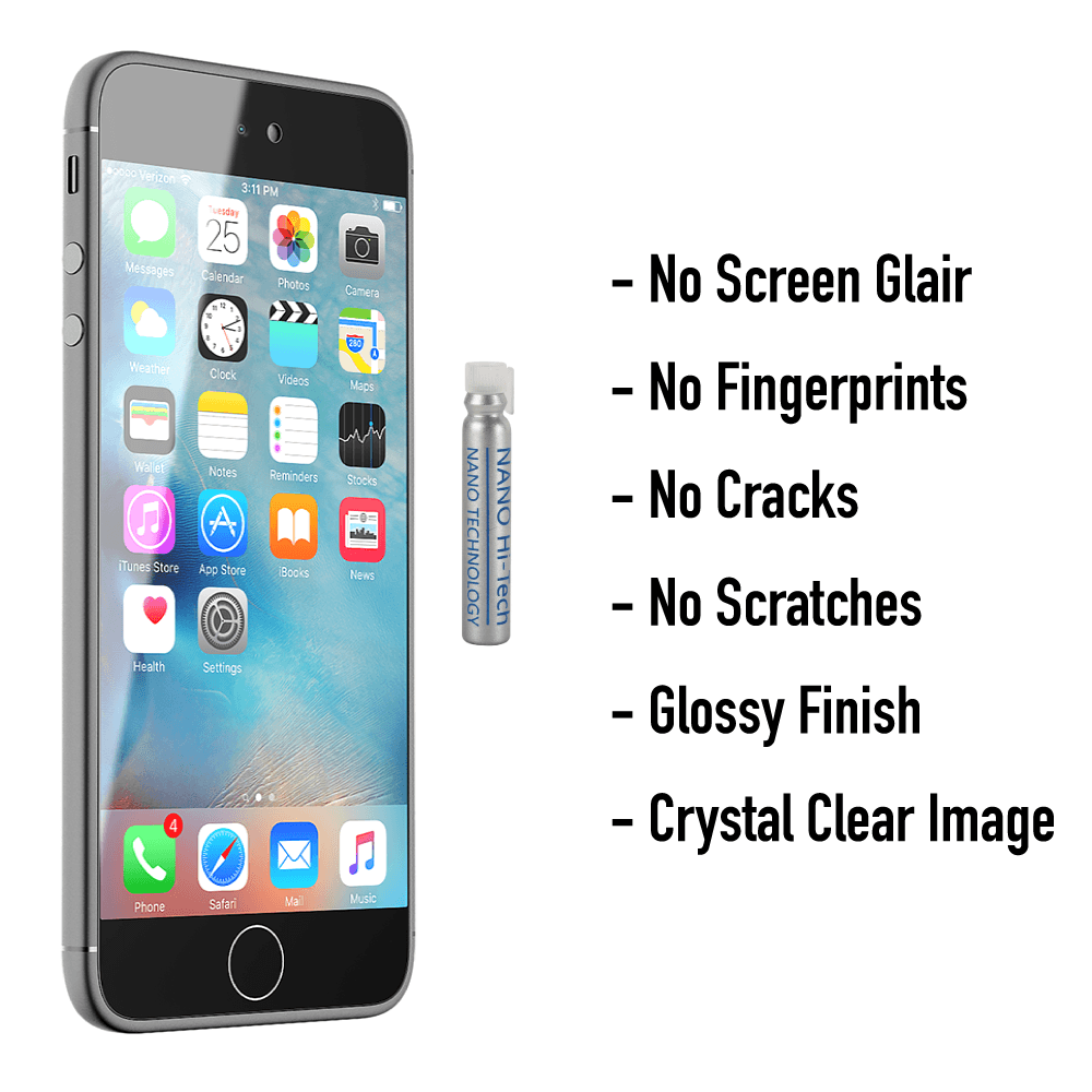 Gadgets - Nano-Tech Liquid Screen Protector