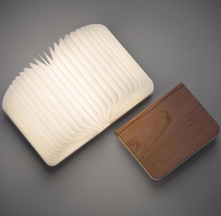 Home - Foldable Wooden Booklight