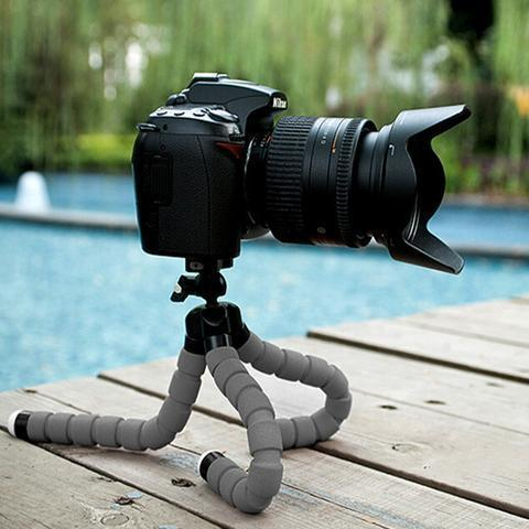 Photo - Mini Flexible Octopus Tripod With 360° Rotating Head