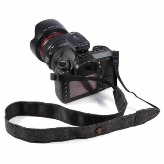 Photo - Universal Adjustable Cotton-Leather Camera Neck Strap