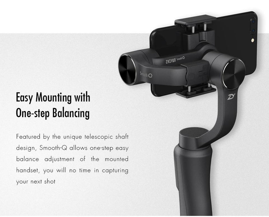Smooth Q Gimbal Stabilizer
