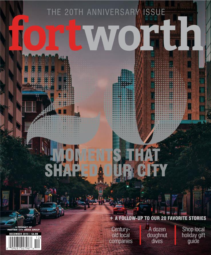 "Fort Worth Magazine ""Shop Local Holiday Gift Guide"""
