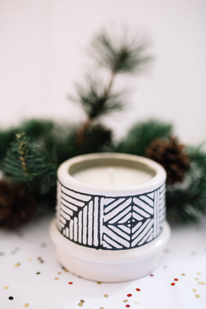 Winter Birch Single Wick Candle