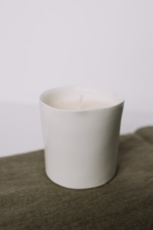 Winter Birch Ceramic Candle