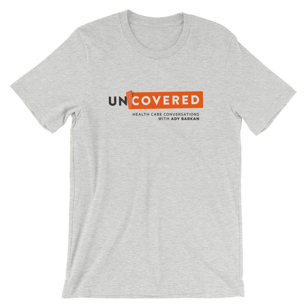 Uncovered T-shirt - Black + Grey
