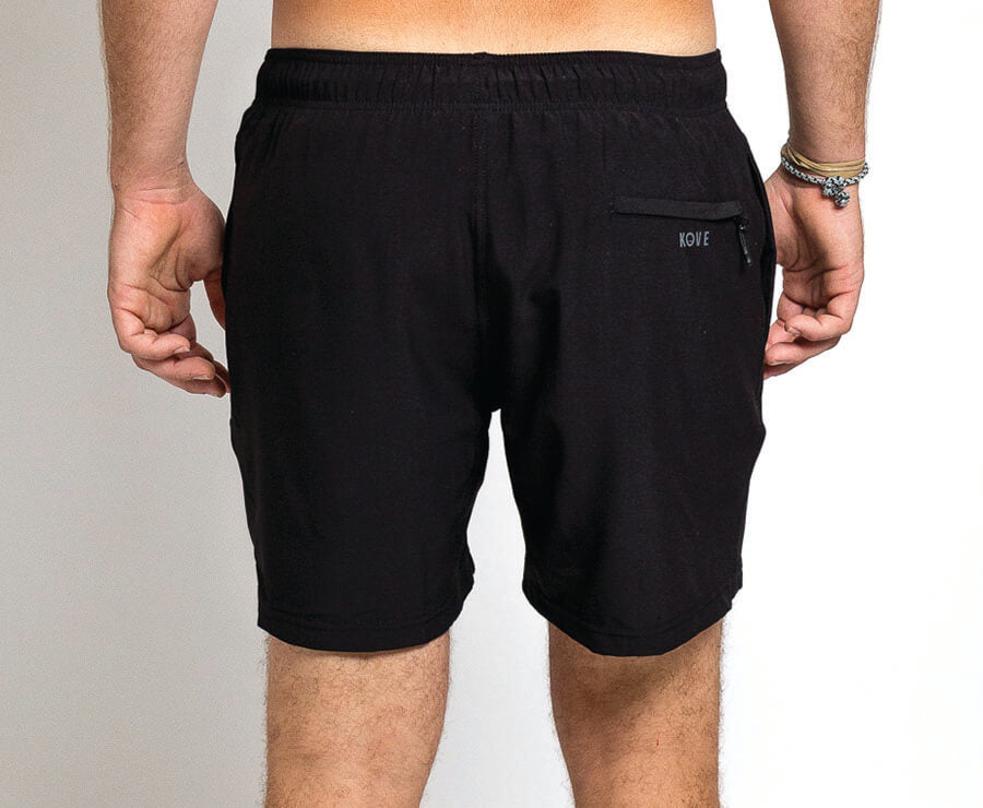 "Ziggy 16"" Swim Trunks Black"