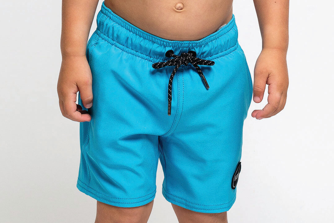 Skipper Toddler Swim Trunks Cyan