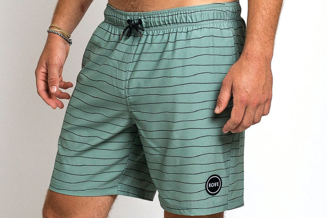 "Nomad 18"" Swim Trunks Sage"
