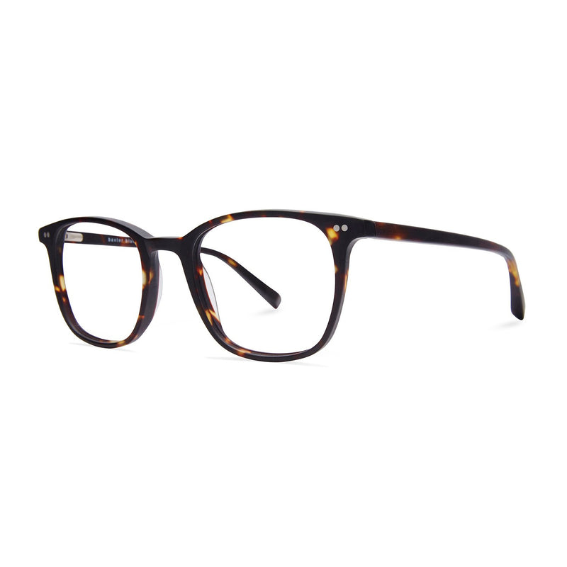 Baxter Blue Clark Matte Havana Blue Light Glasses