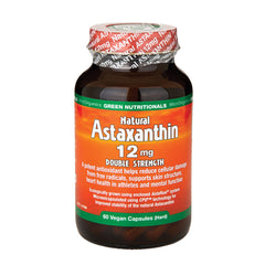 Green Nutritionals Natural Astaxanthin 12mg 60 Capsules