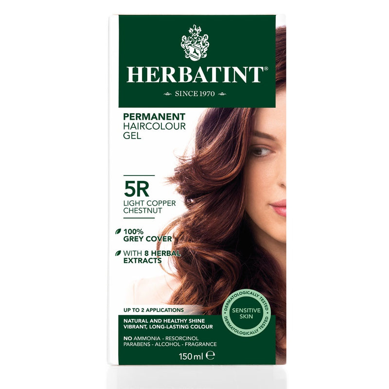 Herbatint Permanent Haircolour Gel 5R Light Copper Chestnut