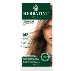 Herbatint Permanent Haircolour Gel 6D Dark Golden Blonde