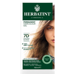 Herbatint Permanent Haircolour Gel 7D Golden Blonde
