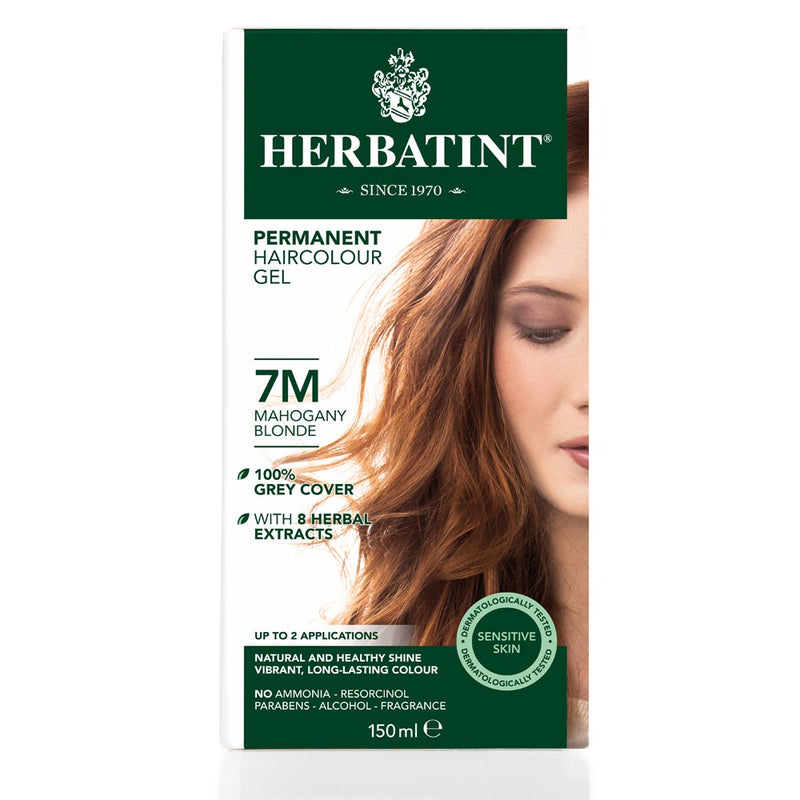 Herbatint Permanent Haircolour Gel 7M Mahogany Blonde
