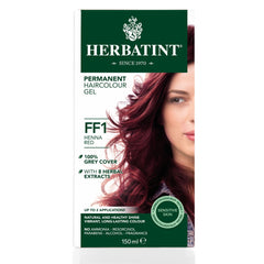 Herbatint Permanent Haircolour Gel FF1 Henna Red