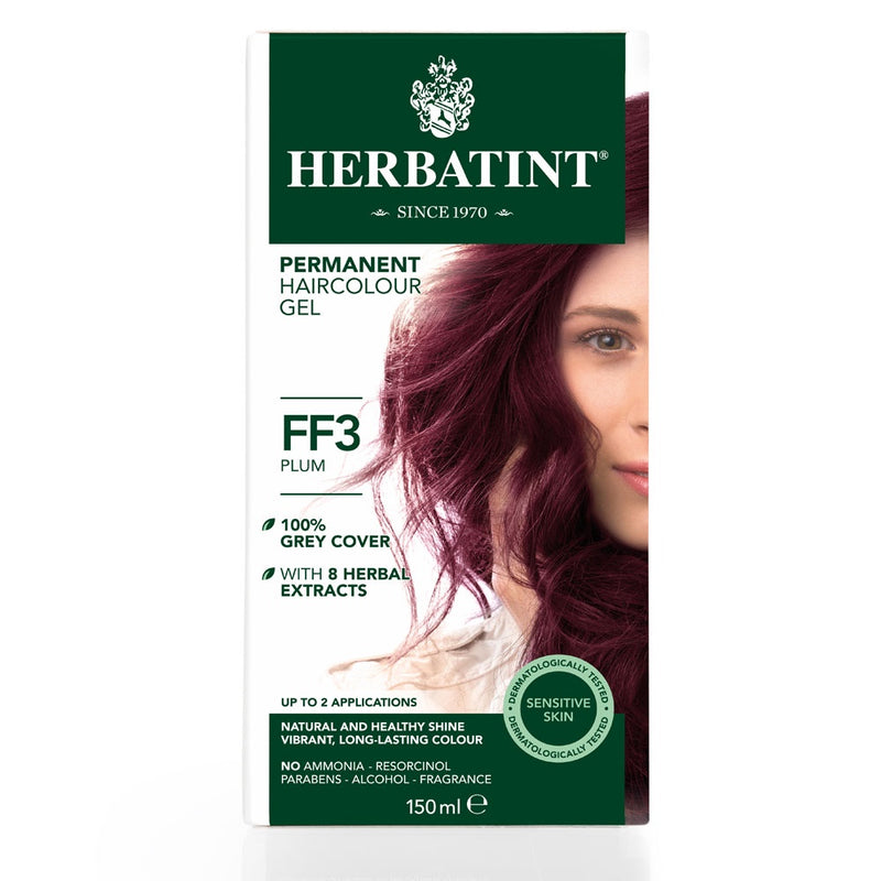 Herbatint Permanent Haircolour Gel FF3 Plum