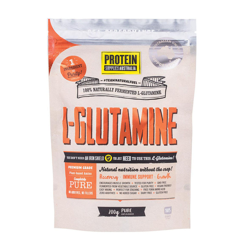 Protein Supplies Australia L-Glutamine Pure 200g