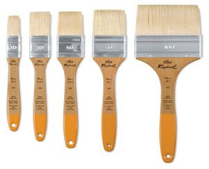 OLEO MULTIMEDIA FLAT BRUSH - oil, gouache, gesso & varnish