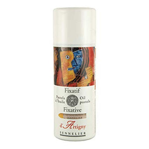 d'Artigny oil pastel fixative Spray 400 ml